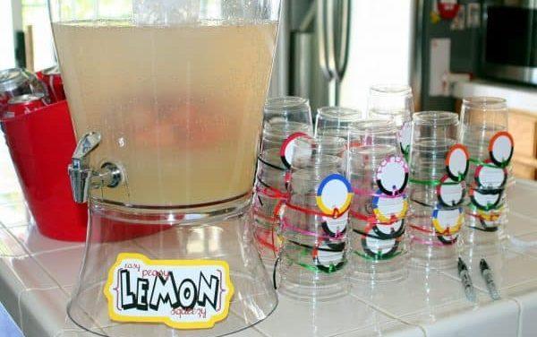 Easy Peasy Lemon Squeezy Lemonade Recipe