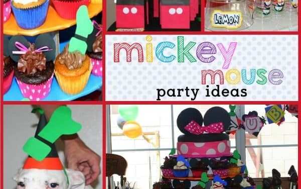 Handmade Mickey Mouse Clubhouse Birthday Party