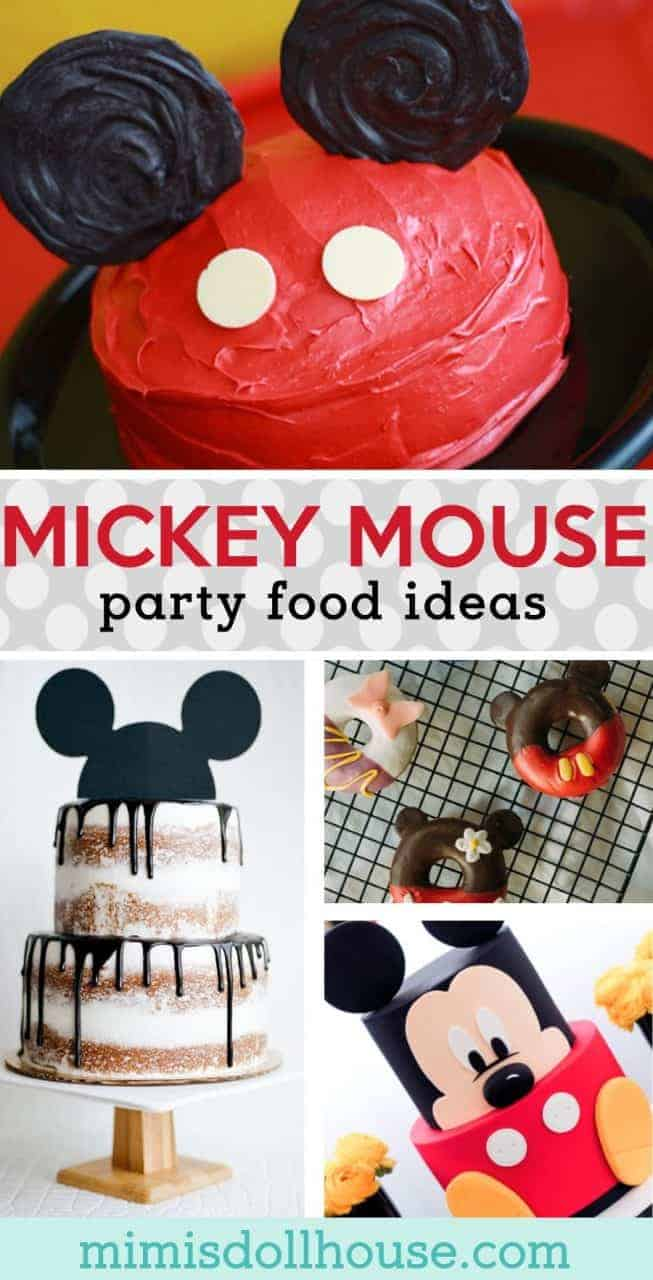 Mickey Mouse Food Ideas: Mickey & Minnie Treats and Desserts. If you are throwing a Mickey Mouse party or decorating for a Minnie Mouse birthday bash, you definitely need some killer Mickey Mouse cake ideas and Minnie Mouse treats!  #mickey #mickeymouse #party #partyideas #parties #baking #cupcakes #cake #holiday #kids #birthday #firstbirthday