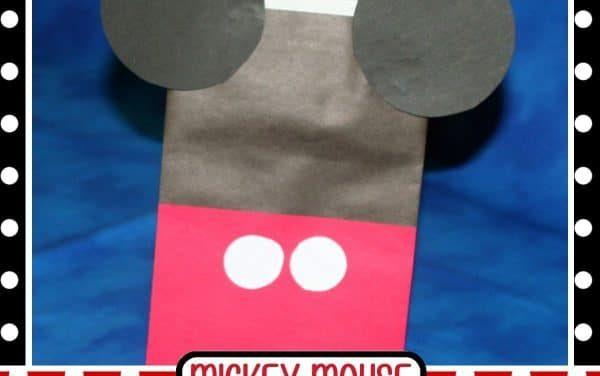 DIY Mickey Mouse Treat Bag
