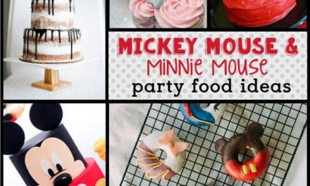Mickey Mouse Food Ideas: Mickey & Minnie Treats and Desserts