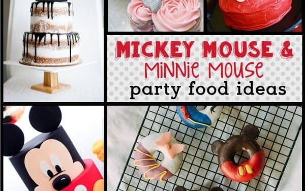 Mickey Mouse Food Ideas + Minnie Mouse Desserts