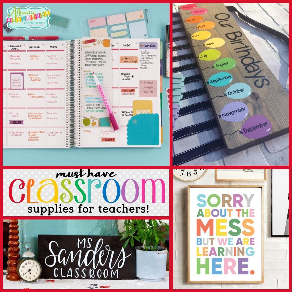 stuff for teachers