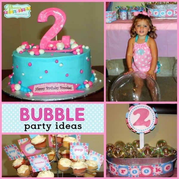 Stupendous Bubble Party Ideas 2 Bubblicious Birthdays Mimis Dollhouse Personalised Birthday Cards Paralily Jamesorg