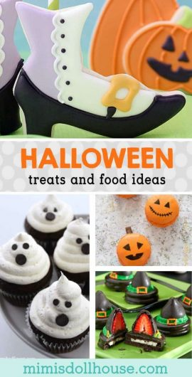 Halloween: Halloween Treats and Food Ideas. Halloween Treats are such a fun way to celebrate Halloween with your little ones.  Here is a list of some of the cutest Halloween Treats and Halloween food ideas around! #halloween #treats #desserts #baking #cookies #cake #holiday #party