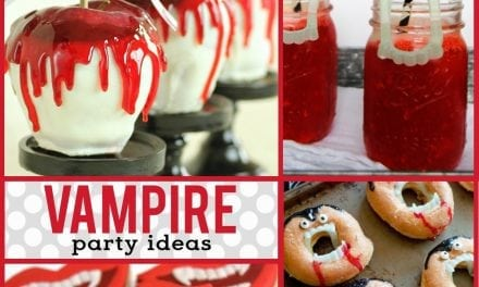 Halloween: Vampire Party Desserts and Food Ideas