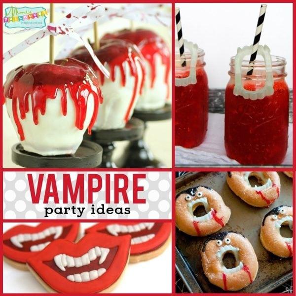 Halloween Vampire Themed Party Food Ideas Mimi S Dollhouse