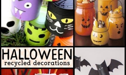 Green Halloween: Recycled Decorations for Halloween