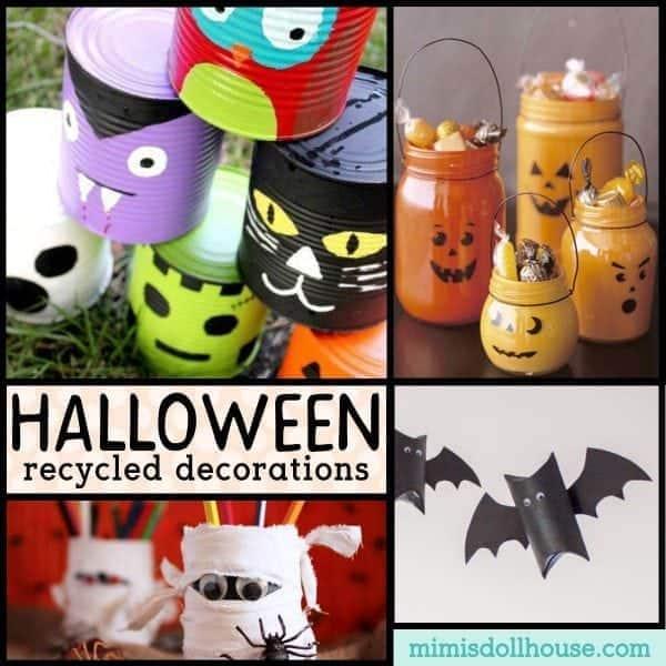 Recycled Halloween Decorations: Green Halloween: Recycled Decorations For Halloween