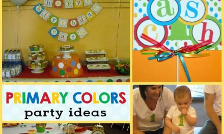 Primary Color Party: Cash's Gymboree 1st Birthday