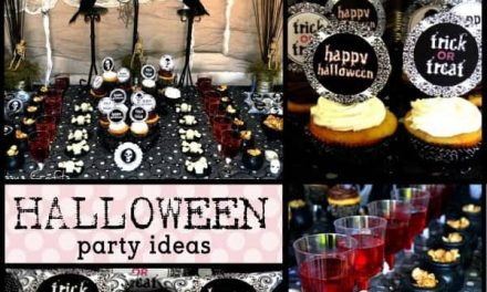 Spooky Halloween Party + Free Printables
