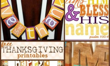 Thanksgiving: FREE Thanksgiving Printables