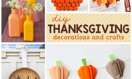 Thanksgiving: Thanksgiving Decorations and Crafts