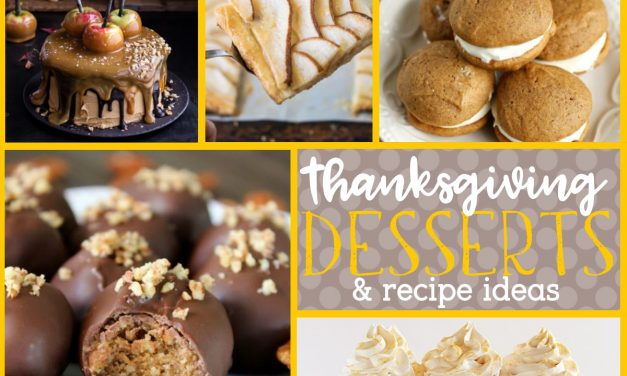 Thanksgiving Desserts: Thanksgiving Food Ideas.