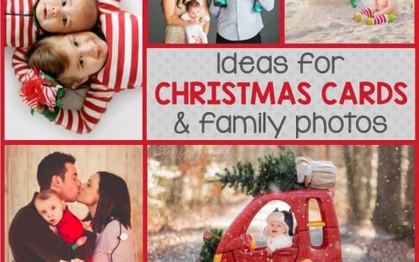 Ideas for Family Photos + Christmas Photo Trends
