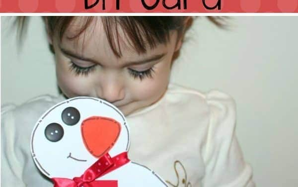 Snowman Crafts: Snowman Card Tutorial