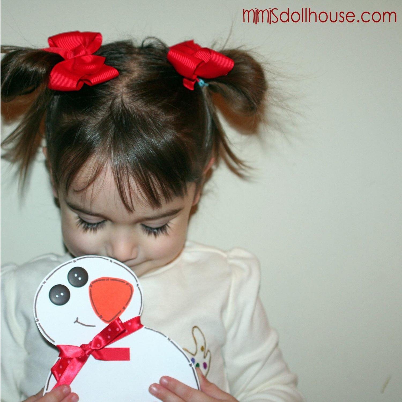 Snowman Crafts: Snowman Card Tutorial
