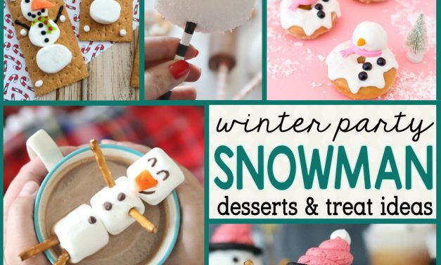 Winter Party: Snowman Desserts and Easy Snowman Treats