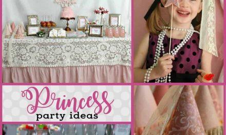 Beautiful Vintage Princess Party + DIY Princess Hats