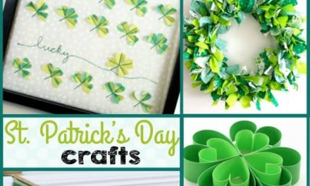 St. Patrick's Day Crafts + Decor Ideas
