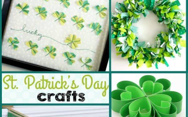 St. Patrick's Day Crafts + Decor Ideas