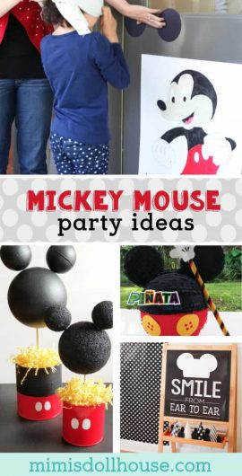 Mickey Mouse Birthday Party: Mickey Mouse Decorations & Ideas. Hot dog...if you are throwing a Mickey Mouse birthday party, we have the ears for you...or Mickey Mouse decorations & party ideas! Also we have some free Mickey Mouse labels!! #mickey #mickeymouse #disney #party #partyideas #parties #kids #birthday #two #one #firstbirthday