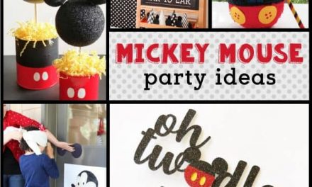 Mickey Mouse Decorations & Free Printable Labels