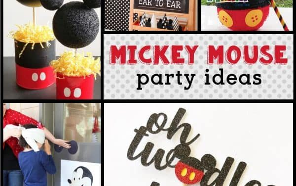 Mickey Mouse Birthday Party: Mickey Mouse Decorations & Ideas