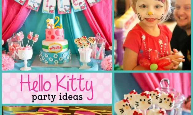Hello Kitty Decorations for a Purr-fect Birthday Party