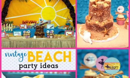 Fun + Summery Vintage Beach Party