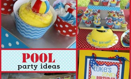 Pool Party Decorations: Luke's Pool Party Birthday Party