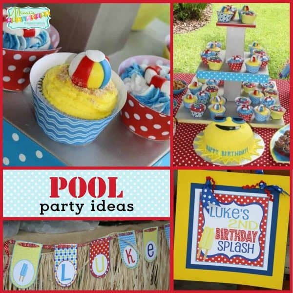 Looking For Some Fun Pool Party Ideas This Post Is Full Of Decorations