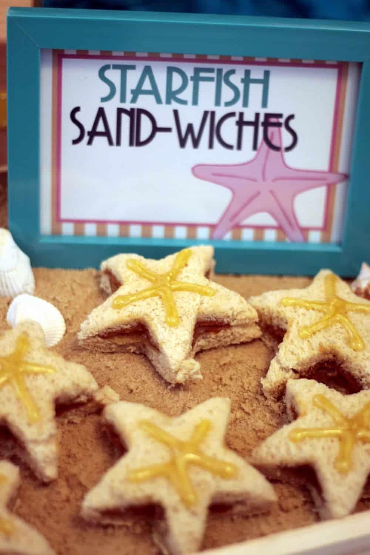 Vintage Beach: Starfish Sandwiches