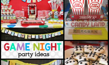 How to Style a HILARIOUSLY Simple Game Night!