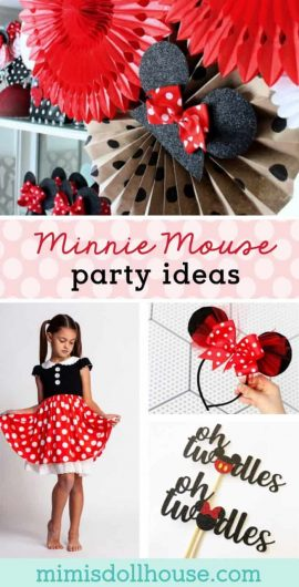 Minnie Mouse Party Ideas: Adorable Minnie Mouse Party Supplies.  Sometimes you just need some amazing Minnie Mouse party ideas to make your birthday complete!  Here are some adorable Minnie Mouse party supplies and decoration ideas to set you party apart from the rest!! Looking for more Minnie Mouse parties?  #minnie #minniemouse #disney #birthday #two #one #kids #party #partyideas #parties #holiday #girl