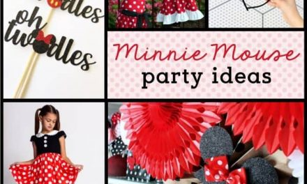 Adorable Minnie Mouse Party Supplies + Ideas