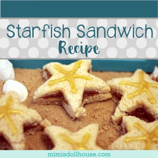 Beach Themed Starfish Sandwich Tutorial