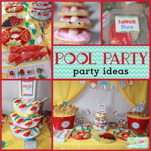 Pool Party Splish Splash Bash Mimi S Dollhouse