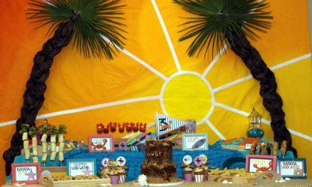 Beach Party: Palm Tree Tutorial