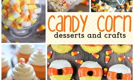 Halloween: Candy Corn Desserts and Candy Corn Crafts