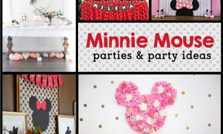 Adorably Stylish Minnie Mouse Birthday Parties