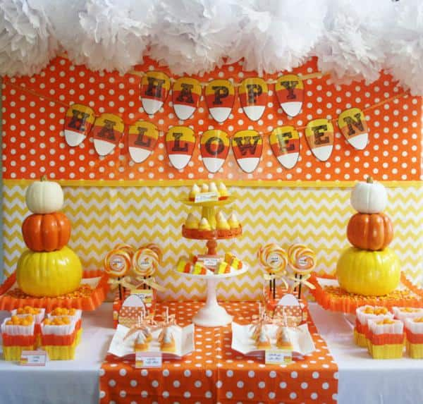 Halloween: Candy Corn Party Time
