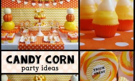 Halloween Candy Corn Party Ideas