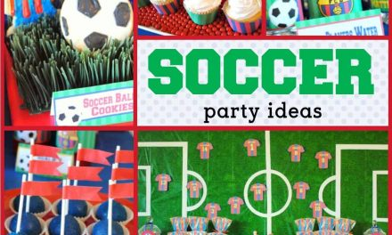 Barcelona Party Ideas + Futbol Birthday Treats