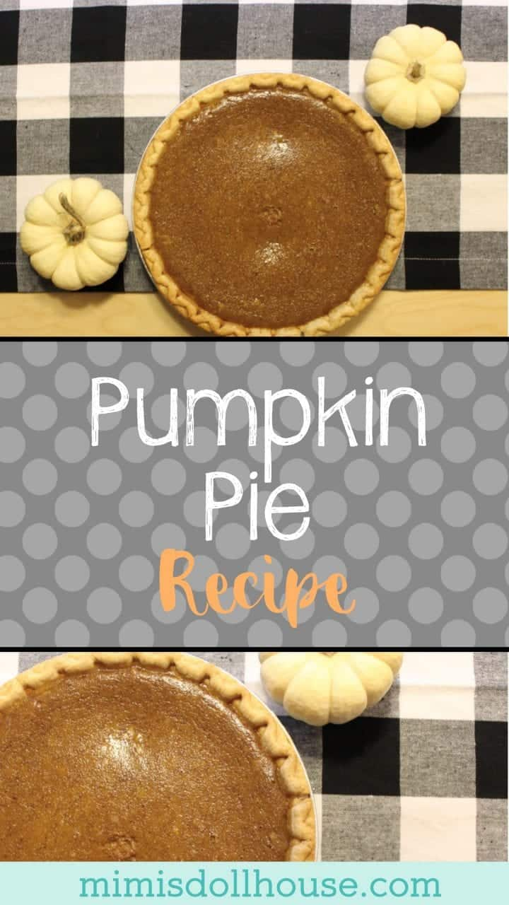 Fall Baking: Easy Pumpkin Pie Recipe.  Who doesn't love an easy pumpkin pie recipe?  Celebrate fall or add to your Thanksgiving meal with a delicious and simple pumpkin pie!  #baking #thanksgiving #fall #parties #recipe #pumpkin #pumpkinpie #autumn #holiday