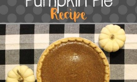 Holiday Baking: Easy Pumpkin Pie