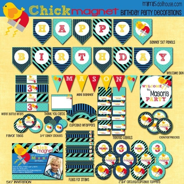 chick magnet display file