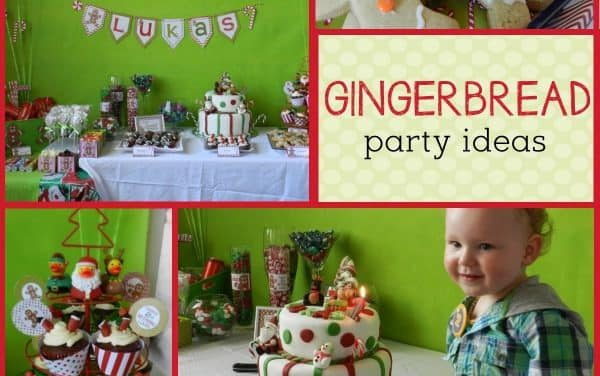 Christmas: Gingerbread Man Party for December Birthdays