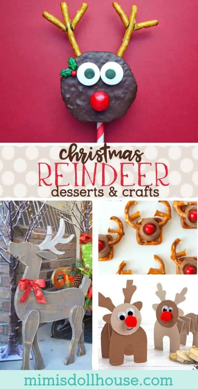 Christmas: Reindeer Food & Crafts for a Festive Reindeer Party. The most famous reindeer on all is inspiring some fun reindeer food and Rudolph crafts.  Just check out these reindeer games!! #christmas #baking #diy #crafts #holiday #parties #kids #winter #reindeer #rudolph #holidayparties