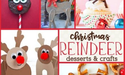 Reindeer Food + Crafts for a Festive Reindeer Party